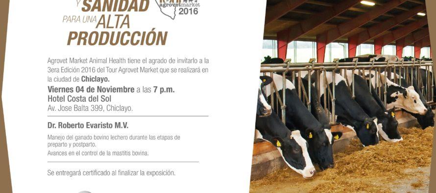 Tour Agrovet Market 2016 ahora en Lambayeque-Chiclayo