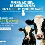 #MONTANAexpertos Presentes en la V Feria Nacional Ganado Lechero Razas Holstein & Brown Swiss 2016