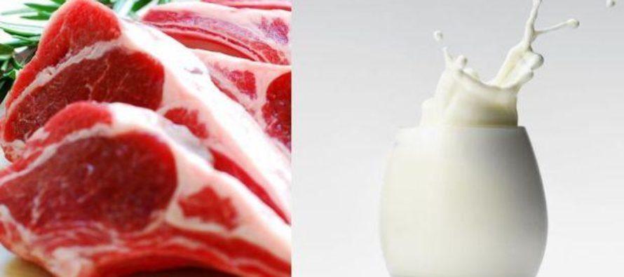 Leche y Carne Orgánica Tienen más Omega 3 que Alimentos Comunes