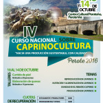 IV Curso Nacional Sobre Caprinocultura en México