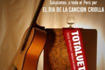 Totalvet Desea Feliz Día de la Canción Criolla