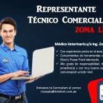 Totalvet Solicita Representante Técnico Comercial para Zona Lima
