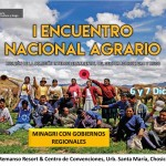 I Encuentro Nacional Agrario 2016