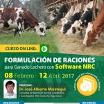 Curso On Line: Formulación de Raciones para Ganado Lechero con Software NRC