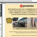 Videoclase: Zin Orgánico y Clorhidrato de Zilpaterol en el Engorde de Ganado Bovino