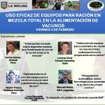 Curso Internacional: Uso Eficaz de Equipos para Ración en Mezcla Total en la Alimentación de Vacunos