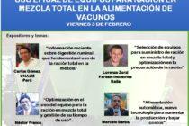 Curso Internacional: Uso Eficaz de Equipos para Ración en Mezcla Total en la Alimentación de Vacunos 🗓