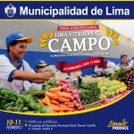 Feria Agropecuaria de Lima: Vitrina del Campo «Alimentos para Vivir Mejor»