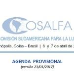"""44ª Reunión Ordinaria de la COSALFA y Seminario Internacional """"Última Etapa del PHEFA: En Transición hacia la Erradicación"""""""