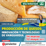 Curso On Line: Producción de Quesos, Innovación y Tecnologías de Vanguardia