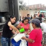 Ganaderos de Lambayeque y La Libertad donan 100,000 litros de Leche al día