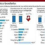 Brasil: Tomaría Represalias si Chile Cierra Completamente el Mercado a sus Carnes