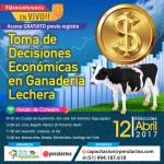 EN VIVO: Toma de Decisiones Económicas en Ganadería Lechera