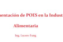 Videoclase: Implementación de POES en la Industria Alimentaria