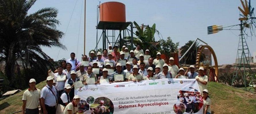 FORMAGRO Capacita Docentes de la Región Lima en Gestión de Negocios Agropecuarios Sostenibles
