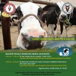 """UNMSM: Reunión Técnica """"Bienestar Animal en Bovinos"""""""