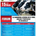 """AGALEP Organiza Forum """"La Ganadería Lechera en el Perú: Análisis y Propuestas de Desarrollo"""""""