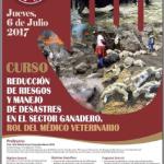 Reducción de Riesgos y Manejo de Desastres en el Sector Ganadero