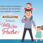 Feliz día del Padre, les Desea la Familia de Andeanvet