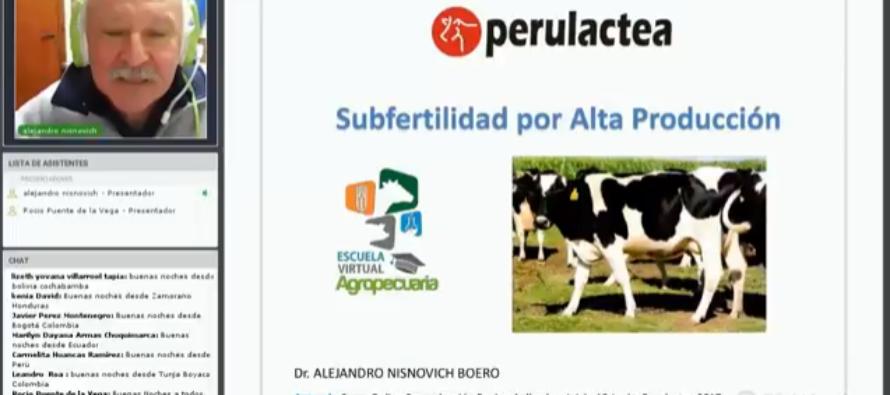 Videoclase: Subfertilidad por Alta Producción en Vacas Lecheras