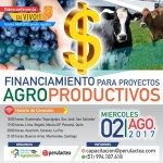 EN VIVO: Financiamiento para Proyectos Agroproductivos