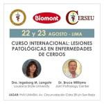 Biomont Auspicia el Curso Internacional: Lesiones Patológicas en Enfermedades de Cerdos 2017