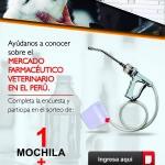 Ayúdanos a Conocer el Mercado Farmacéutico Veterinario en el Perú