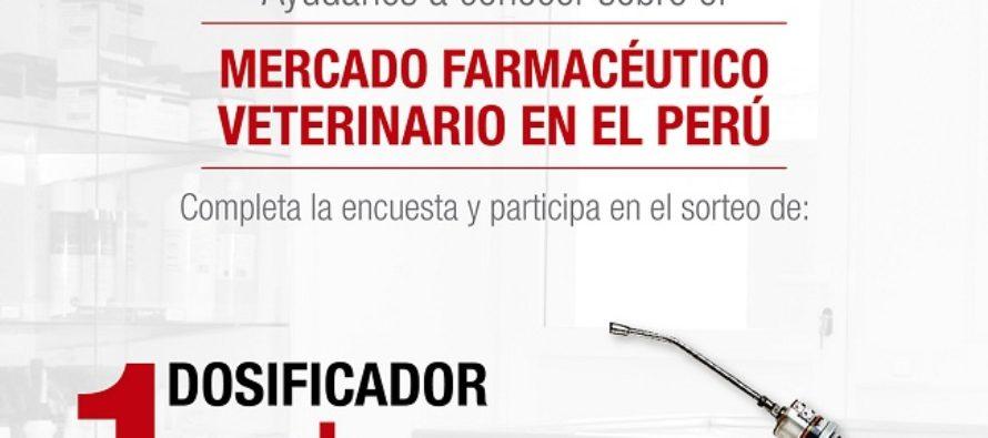 Ayúdanos a conocer sobre el Mercado Farmacéutico Veterinario en el Perú