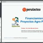 Videoclase: Financiamiento para Proyectos Agroproductivos