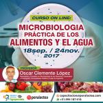 Curso On Line: Microbiología Práctica de los Alimentos y el Agua