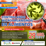 EN VIVO: Controlando Microorganismos en Alimentos