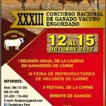 XXXIII Concurso Nacional de Ganado Vacuno Engordado