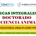 Segunda Convocatoria Para Becas en Doctorado en Ciencia Animal 2017