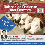 Curso On Line: Balance de Raciones con Software para el Engorde de Ganado Bovino