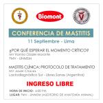 Laboratorios Biomont Invita a Participar de la CONFERENCIA DE MASTITIS