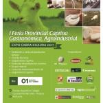 Expo Cabra Huaura 2017: I Feria Provincial Caprina, Gastrónomica y Agroindustrial