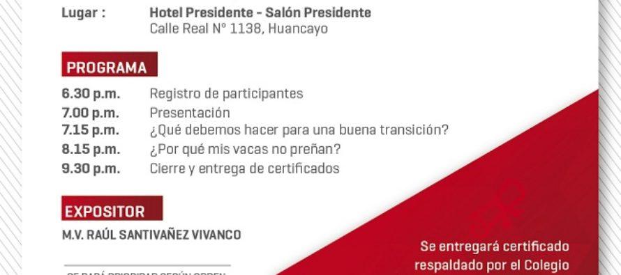 Quinta Conferencia de la Fundación Biomont – Huancayo 2017