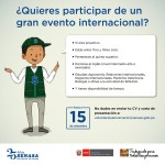 Senasa: Invita a Universitarios para Participar de un Gran Evento Internacional