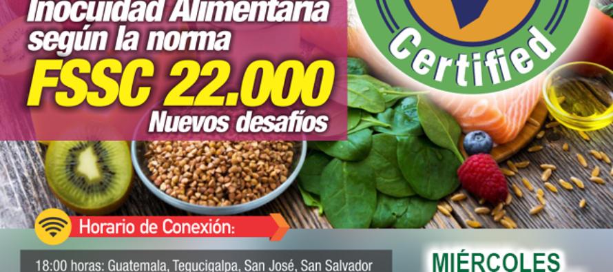 EN VIVO: Tendencias en Inocuidad Alimentaria según la Norma FSSC 22000