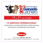 Laboratorios Biomont los Invita a la VI FERIA NACIONAL DE GANADO LECHERO