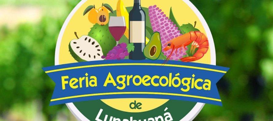 Inauguran la Primera Feria Agroecológica de Lunahuaná