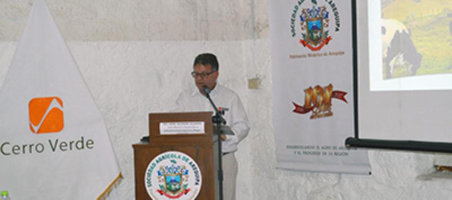 Se Triplicará Producción Lechera con Plan de Pastos Cultivados en Arequipa