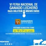 ¡Montana Te Espera! En la VI Feria Nacional de Ganado Lechero 2017
