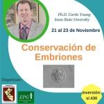 """Curso Presencial: """"Fundamentos y Prácticas para la Conservación de Embriones con Énfasis en Bovinos y Ovinos"""""""