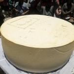 Arequipa: Pobladores de Espinar Elaboran Queso Gigante de 350 kilos