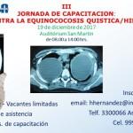 III Jornada de Capacitación: Lucha Contra la Equinococosis Quística / Hidatidosis