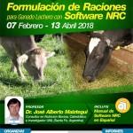 Curso On Line: Formulación de Raciones para Ganado Lechero con Software NRC + Manual en Español
