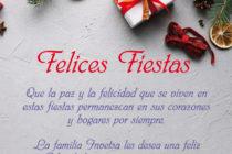 La Familia Invetsa les desea una Feliz Navidad y un Exitoso Año 2018