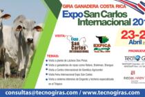 """Costa Rica: Gira Ganadera """"Expo San Carlos Internacional 2018"""""""