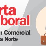 Oferta Laboral:  Promotor Comercial – Zona Norte
